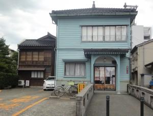 大正11年建築の金沢西料亭組合事務所(検番)