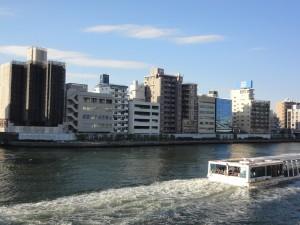柳橋隅田川