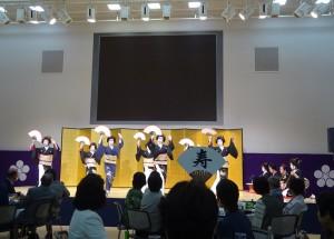 「加賀の宴」。この日はひがしの芸妓衆が舞踊を披露