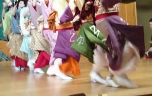 2015.10.6 東京芸者、「阿波踊り」を踊る