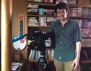 AFP通信社ビデオジャーナリストのカンタンさん(本人の了解を得て掲載しています)