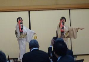 新橋と赤坂・2トップ共演