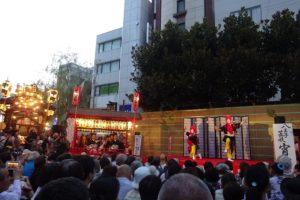 宵宮の舞(中町公園)